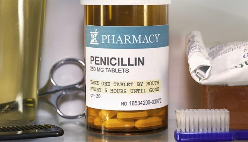 Nhóm Penicillin là kháng sinh phổ biến nhất được sử dụng quá trình chữa áp xe