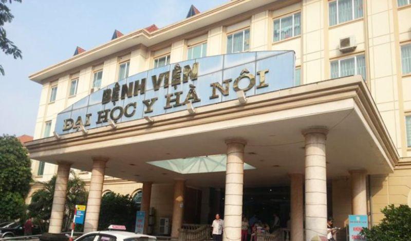 Bệnh viện Đại học Y Hà Nội là địa chỉ bọc răng composite uy tín
