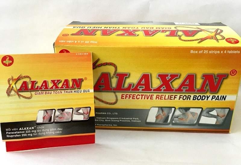 Ngoài tác dụng giảm đau răng, Alaxan còn loại bỏ những cơn đau đầu.