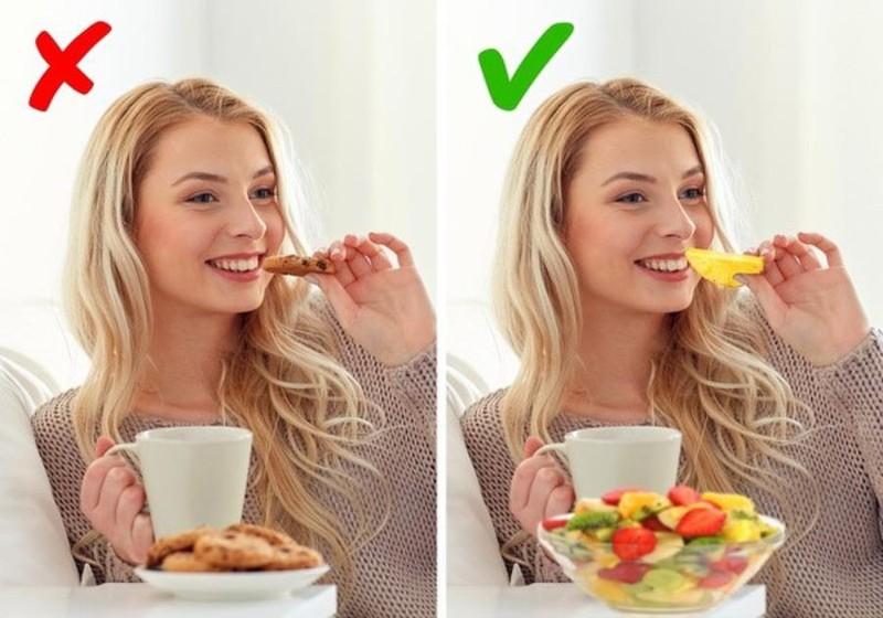Thay đổi thói quen ăn nhẹ lành mạnh