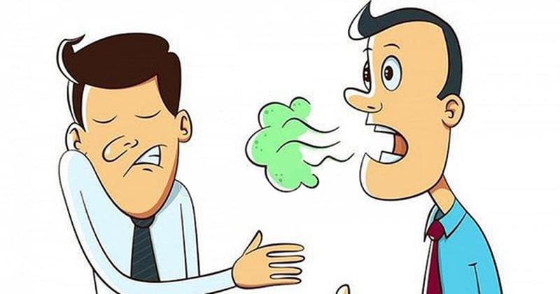 Hơi thở có mùi do nhiều nguyên nhân gây ra