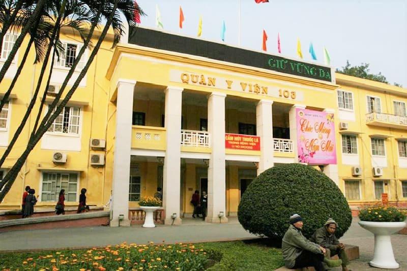 Bệnh viện 103 cung cấp dịch vụ khám chữa bệnh chất lượng