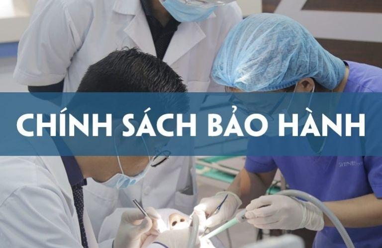 Chính sách bảo hành nha khoa đạt chuẩn chất lượng Quốc tế.