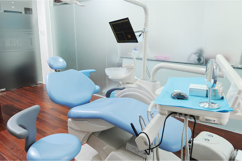 Toàn bộ trang thiết bị, máy móc sử dụng để điều trị đều là model mới nhất từ nước ngoài