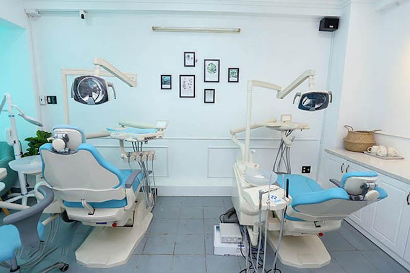 Toàn bộ các trang thiết bị tại nha khoa đều được đầu tư hiện đại