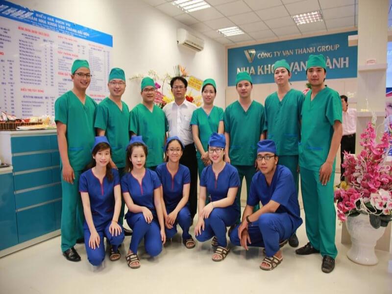 Toàn bộ đội ngũ y bác sĩ tại nha khoa đều được đào tạo bài bản