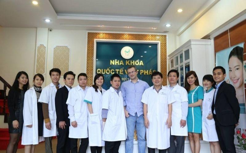 Phòng khám Việt Pháp nhận được sự cộng tác của chuyên gia nước ngoài