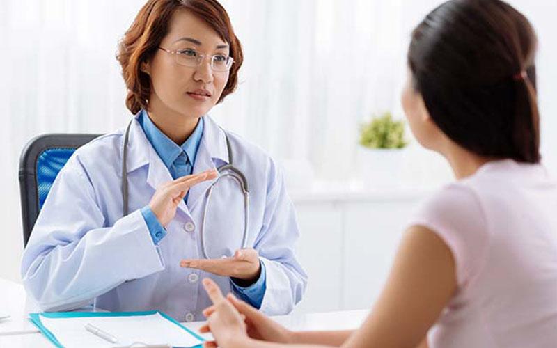 Bệnh nhân nên cung cấp cho bác sĩ thông tin về tình trạng của mình