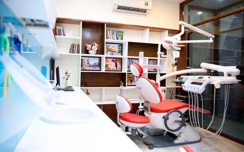 Hệ thống máy móc hiện đại giúp phòng khám thực hiện nhiều dịch vụ khác nhau