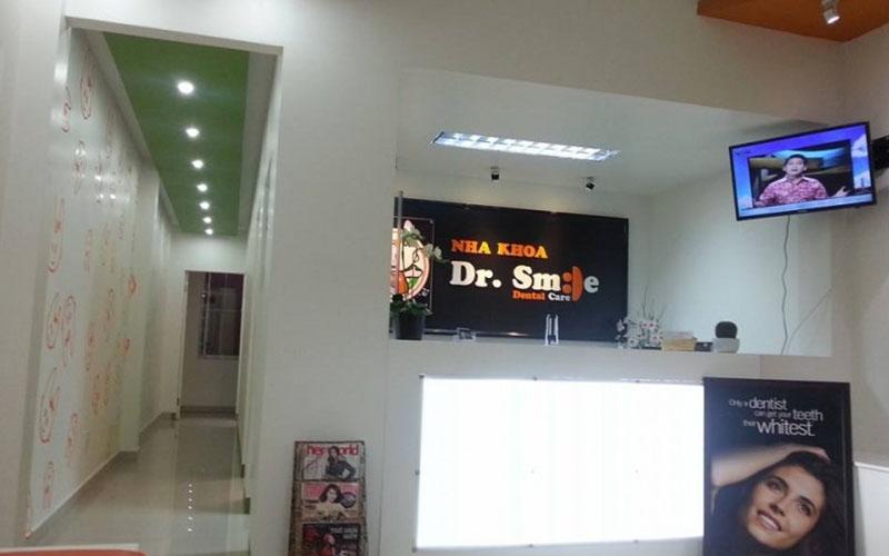 Nha khoa Dr Smile có cơ sở vật chất khang trang